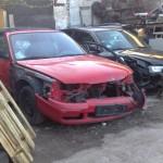 Madza 626 - Front skade
