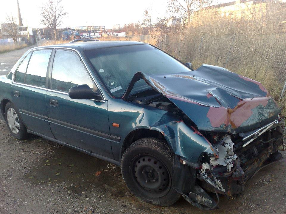 Honda Accord - Front skade