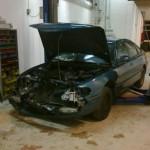 Mazda 626 - Front skade