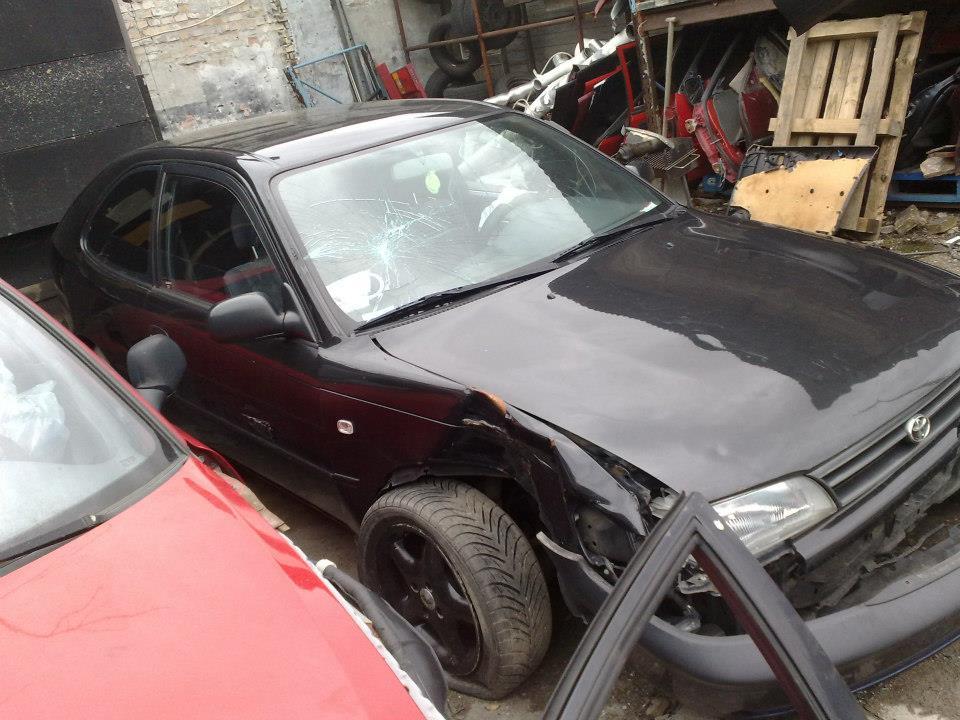 Toyota Corolla - Side skadet