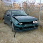 Seat Ibiza - Front skade
