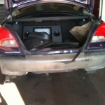 Ford Mondeo - Skadet bagfra